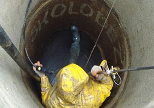 Чистка и ремонт колодца в Ленинском районе