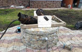 Чистка и дезинфекция колодца в Одинцовском районе