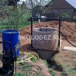 Провалы после устройства водопроводы