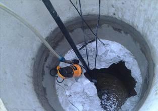 Проблемы при чистке колодца зимой