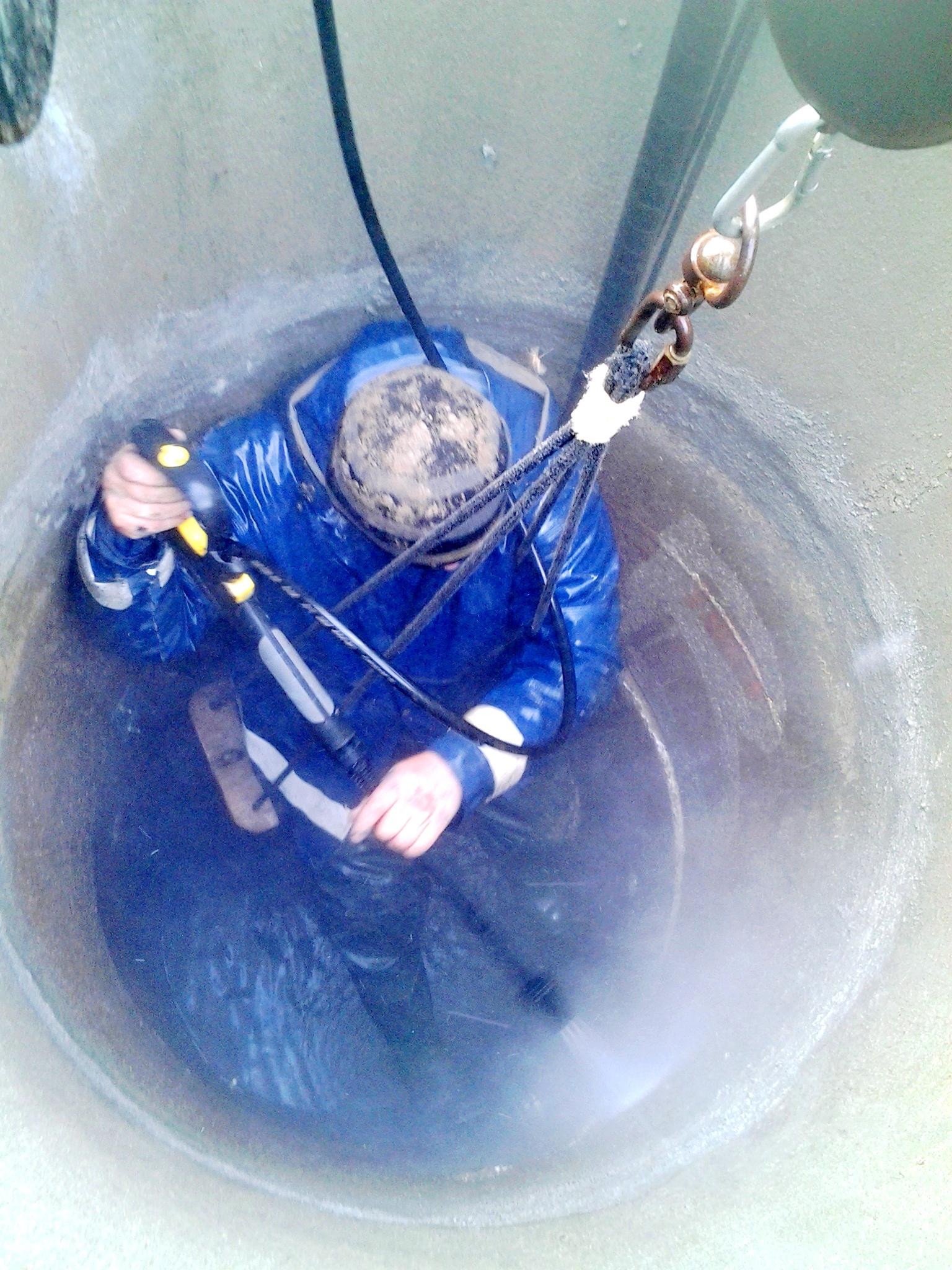 Чистка и ремонт колодца в Пирогово