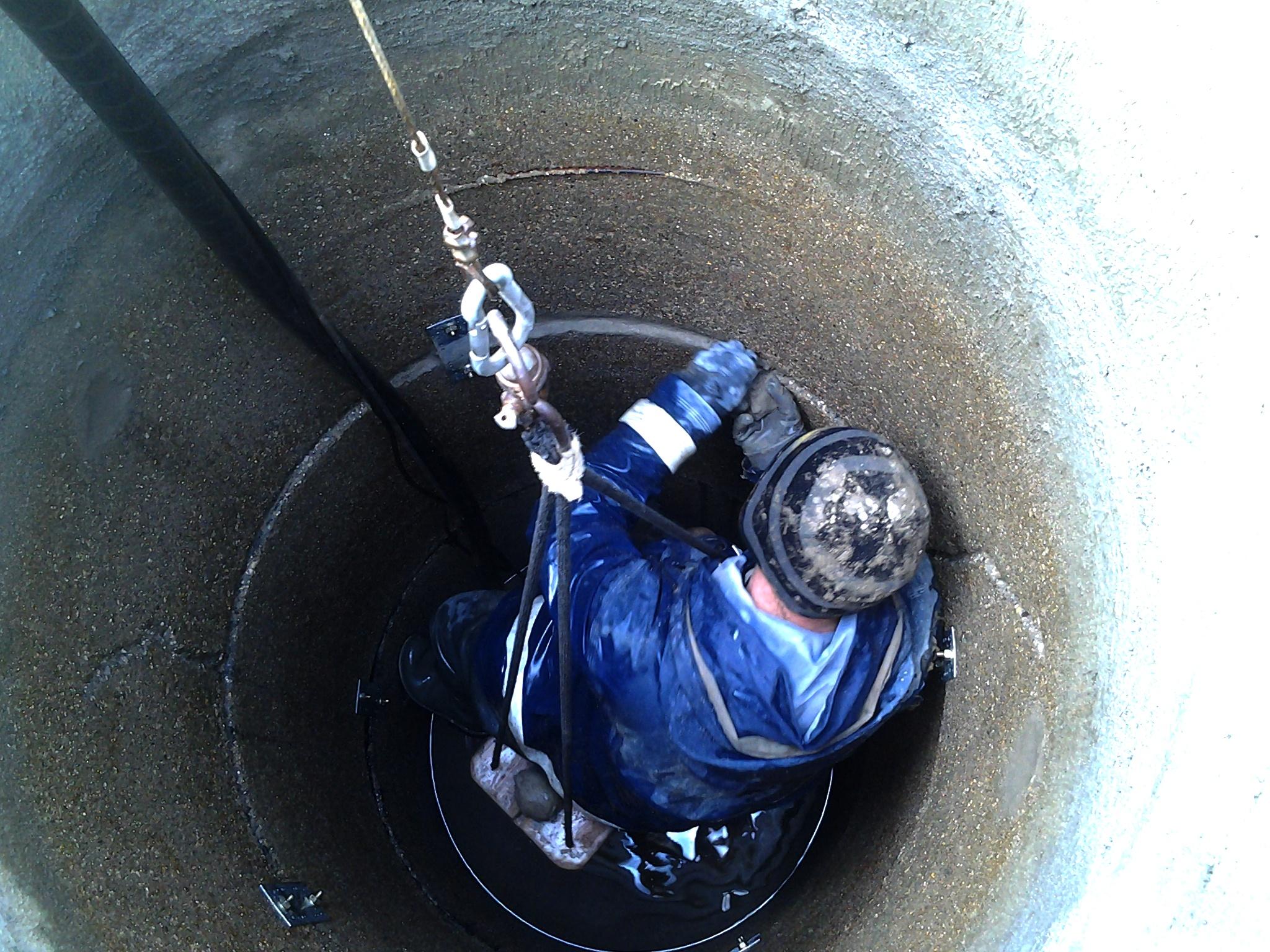 Чистка и ремонт колодца в Поярково