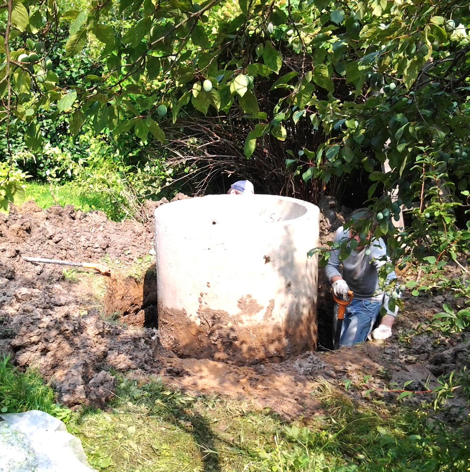 Чистка и ремонт колодца в Фирсановке