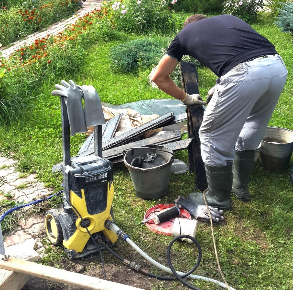 Чистка и ремонт колодца в Жуковском