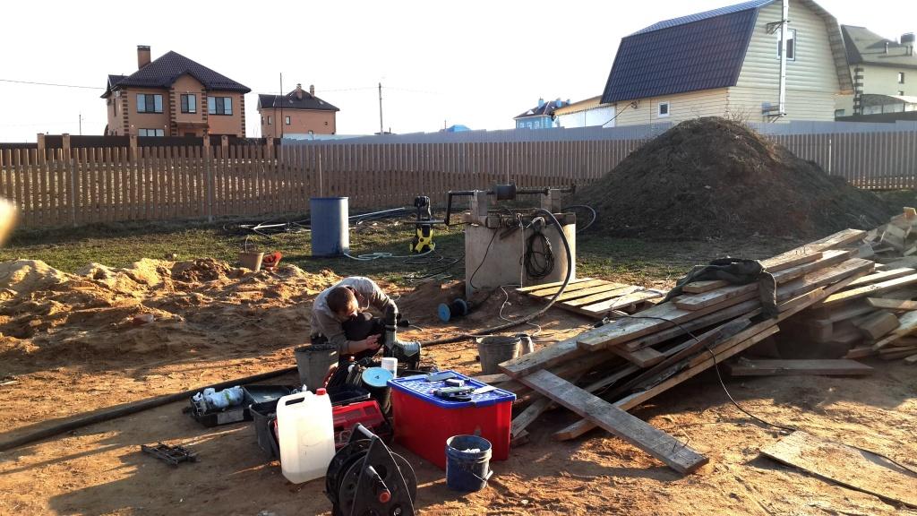 Чистка и ремонт колодца в Одинцовском районе