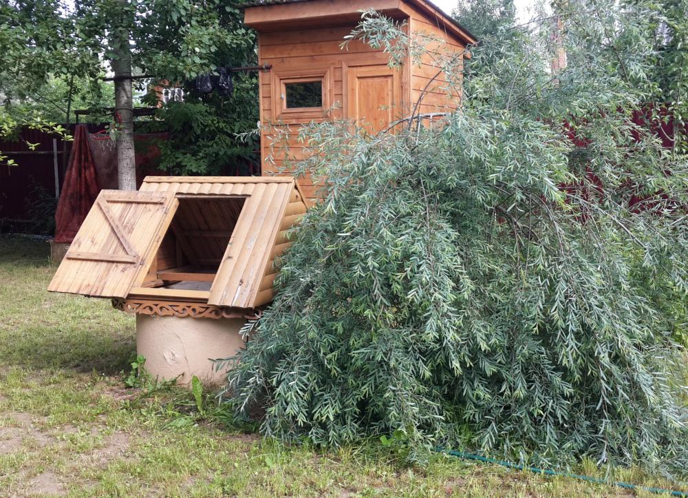 Чистка и ремонт колодца в Хоругвино