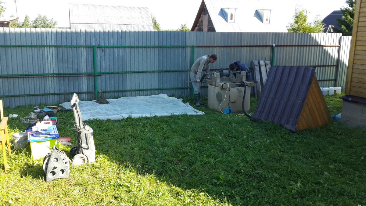 Почистить старый колодец в Электрогорске
