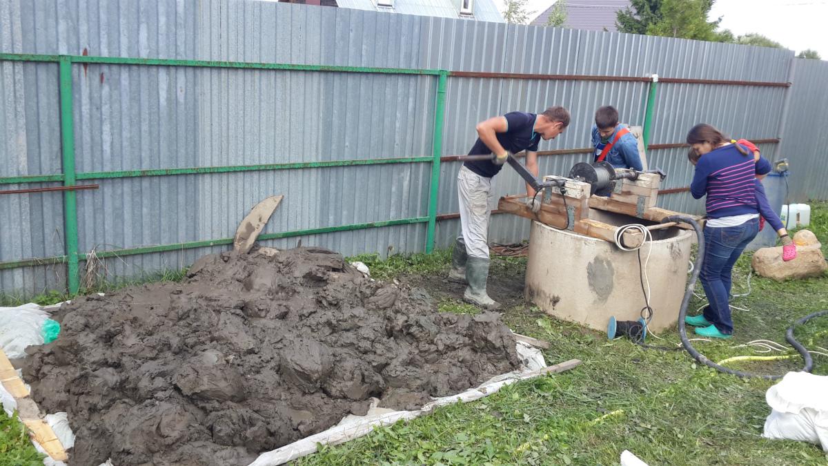 Как чистить колодец в Гаврилково