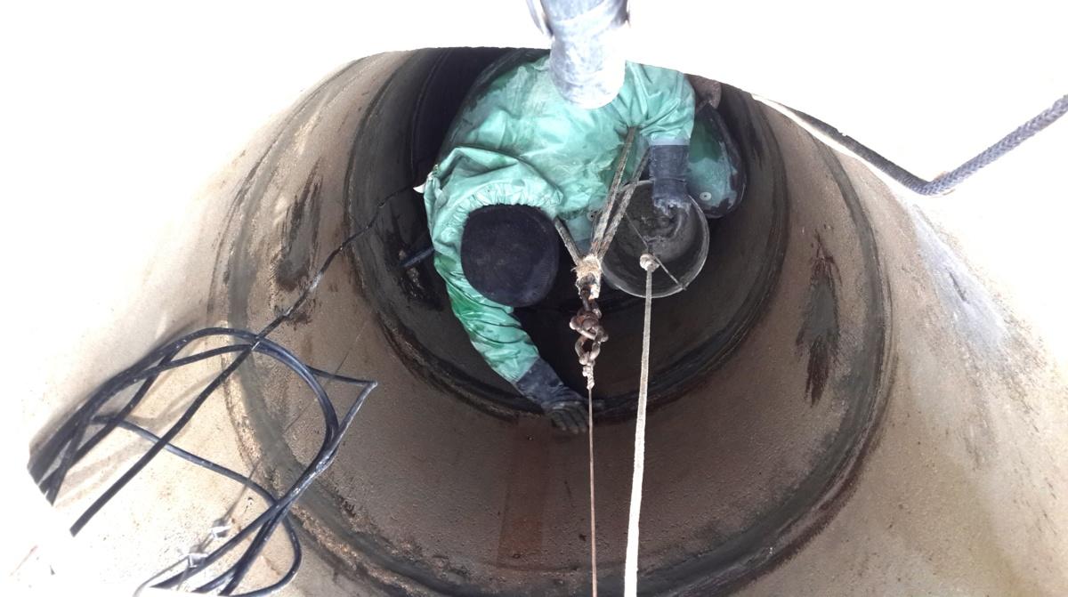 Чистка и ремонт колодца в Ермолино