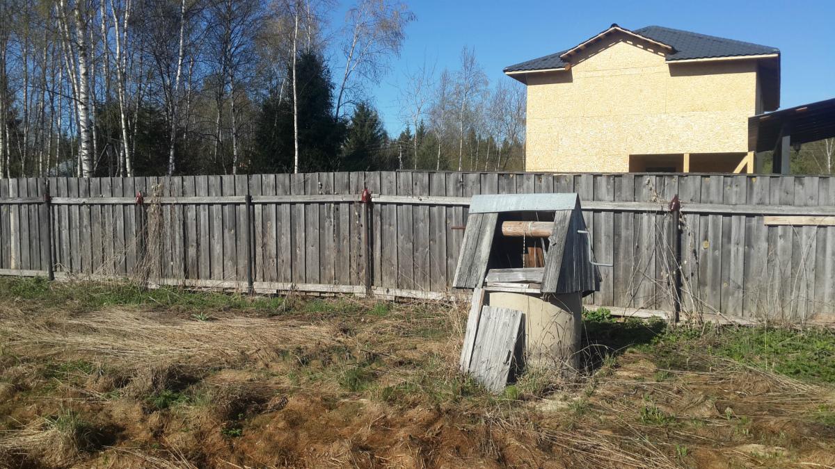 Почистить колодец на даче в Каринском