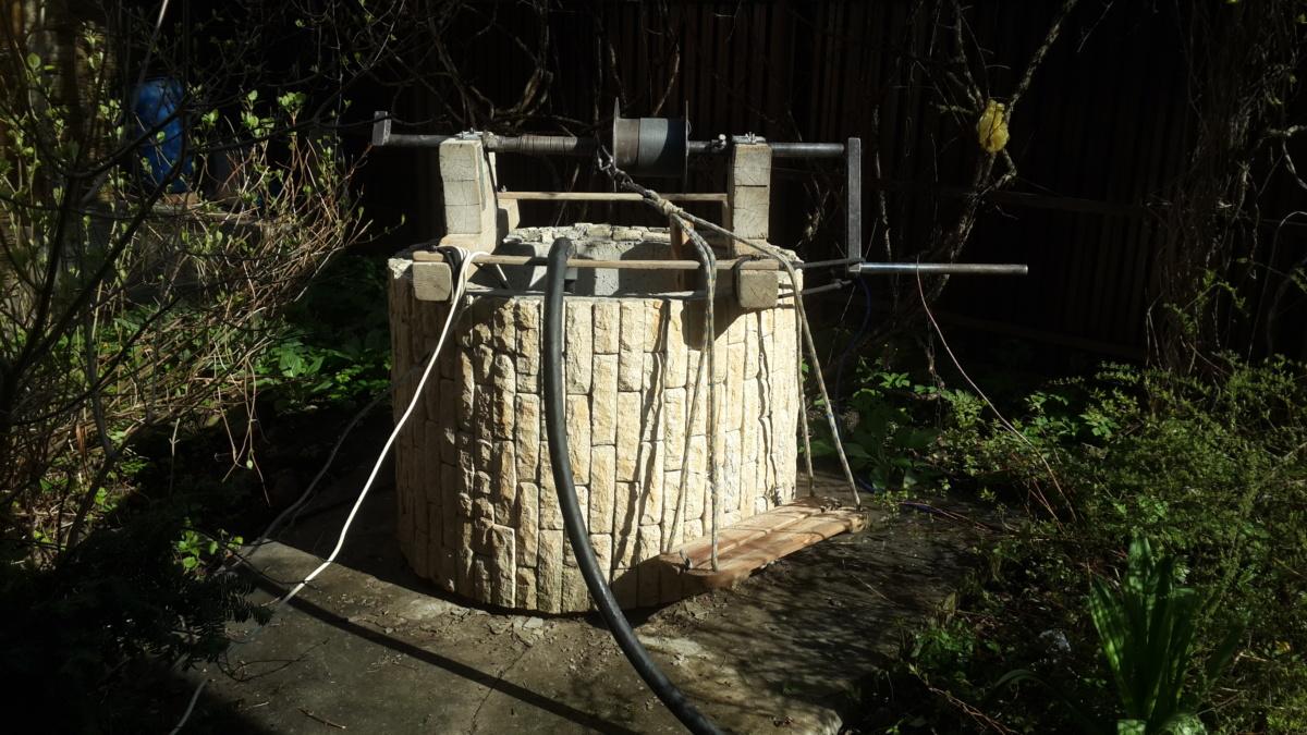 Чистка и ремонт колодца на даче в Калининце