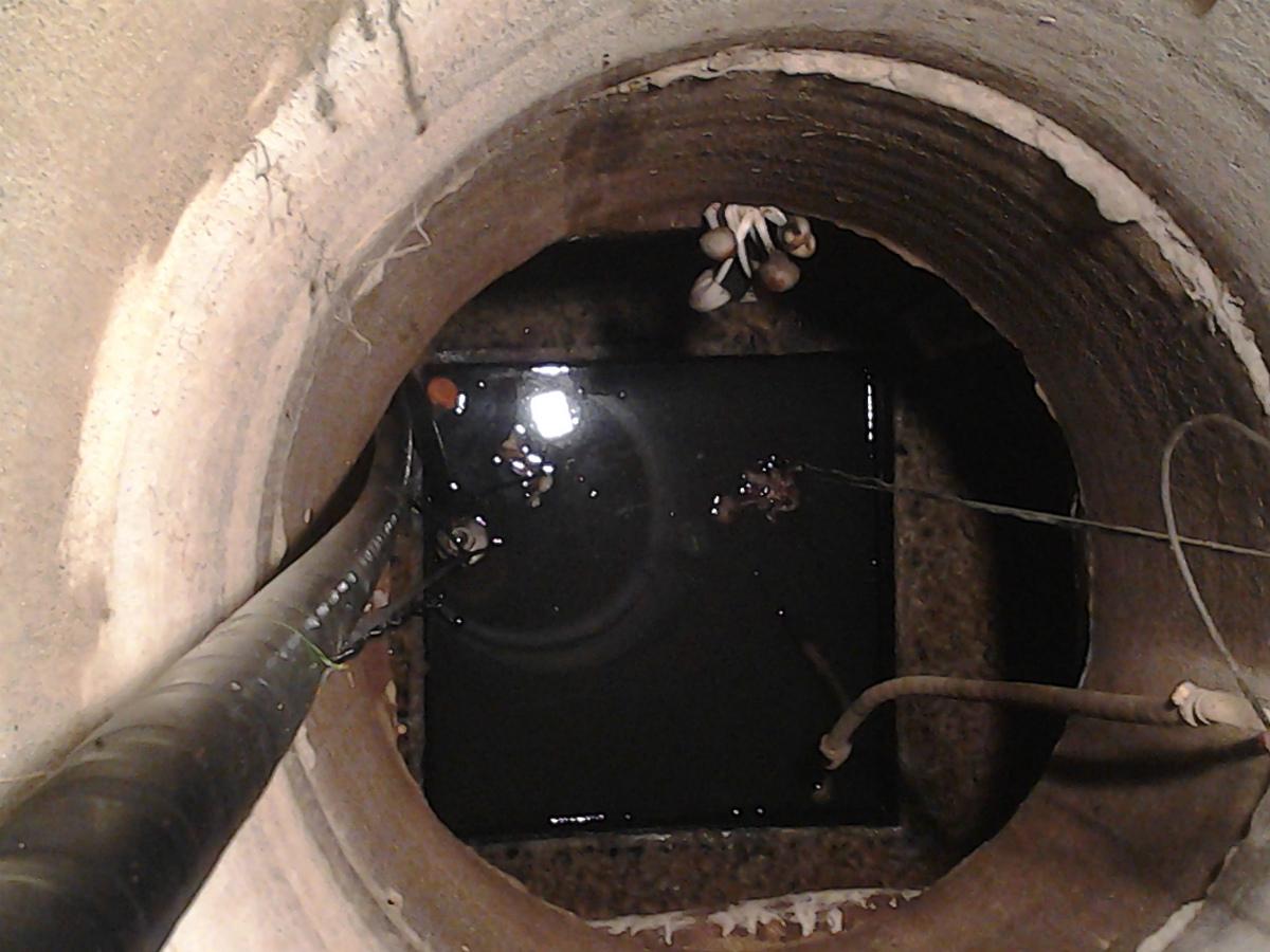 Чистка и ремонт колодца в Тараканово