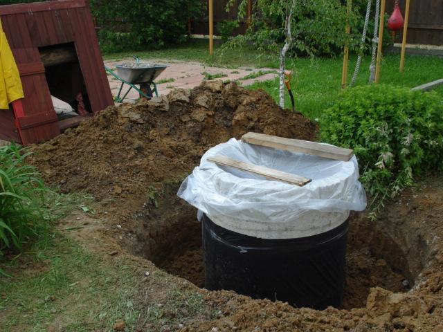 Чистка и ремонт колодца в Монино